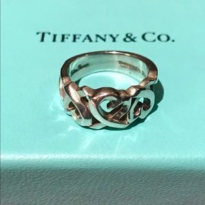 Authentic Tiffany & Co. Loving Heart ring